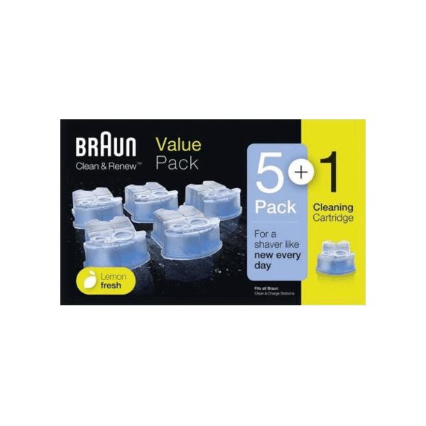 Image of Braun Reinigungskartusche CCR - 5+1er Pack
